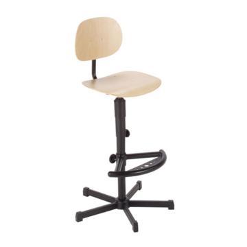 工作椅,MEY工作椅,自然色 高度调幅640-840mm 带脚踏 不可旋转(散件不含安装)