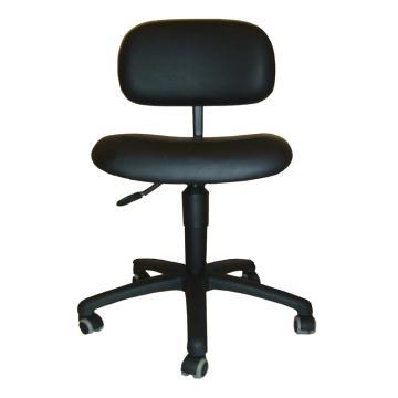 工作椅,MEY工作椅,黑色 高度调幅500-630mm 带刹车的硬地脚轮(散件不含安装)