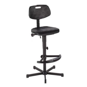 工作椅,MEY工作椅,黑色 高度调幅655-900mm 带踏环 不可旋转(散件不含安装)