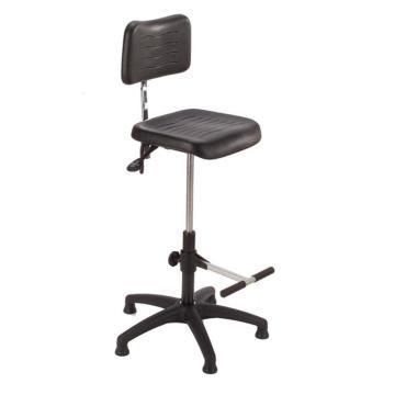 MEY工作椅, 黑色 高度調幅595-845 mm 帶腳踏 不可旋轉(散件不含安裝)