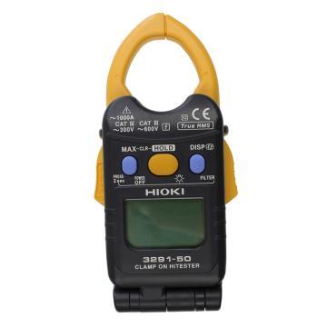 日置/HIOKI 折叠式数字钳形表,1000A真有效值 8mm超薄钳口,单交流,3291-50
