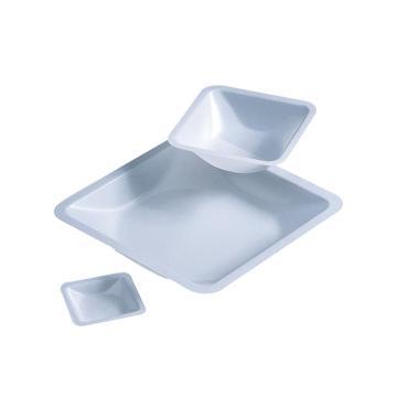 BRAND称量盘,PS材质,方形,250ml,140*140*21mm,500个/箱