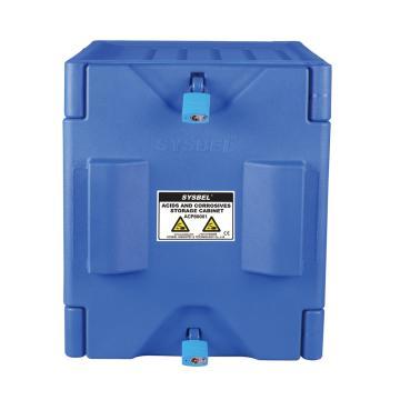 西斯贝尔SYSBEL 强腐蚀性化学品储存柜,4加仑/15升,蓝色/手动,不含接地线,ACP80001