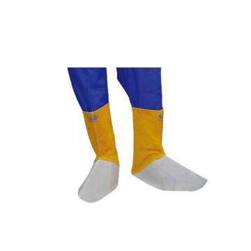 金黄色皮短筒脚盖,筒长15cm