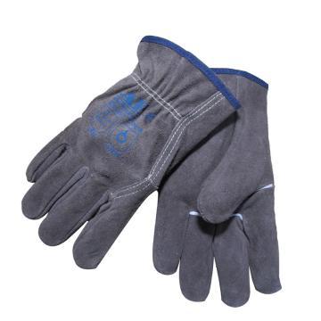 炭啡色机械师手套,尺码:L