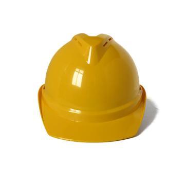 禄华ABS安全帽,黄色,正面印国电logo(同系列30顶起订)