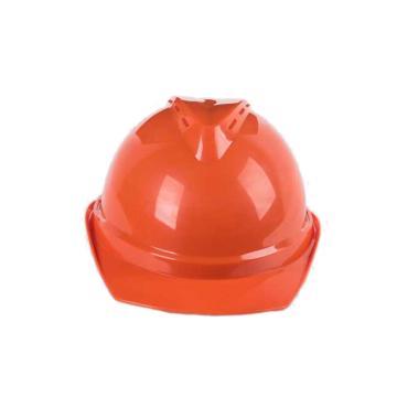 禄华ABS安全帽,橙色,正面印国电logo(同系列30顶起订)