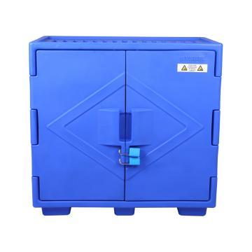西斯贝尔SYSBEL 强腐蚀性化学品储存柜,22加仑/83升,蓝色/手动,不含接地线,ACP80002