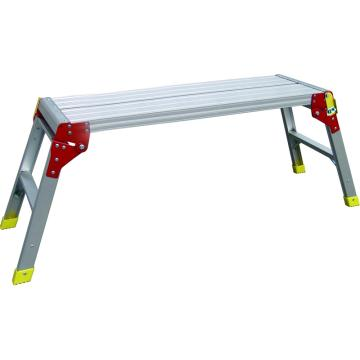 金锚 铝合金平台梯,额定载荷(KG):150 平台:长度X高度(米):1.0X0.48,LFD60AL10X