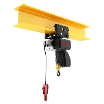 诺威 手推小车式环链电动葫芦 载荷1600KG 双链NCH2072 16004P,NCH2072 16004P 起升高度3米