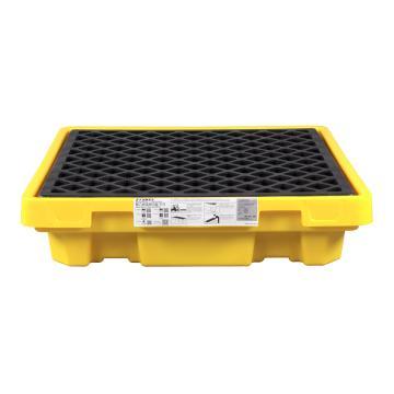 SYSBEL/西斯贝尔 单桶聚乙烯盛漏平台,680×680×150mm,SPP401