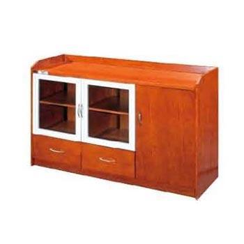 茶水柜,1200x400x800 胡桃木木皮贴面 限安微蚌埠区域