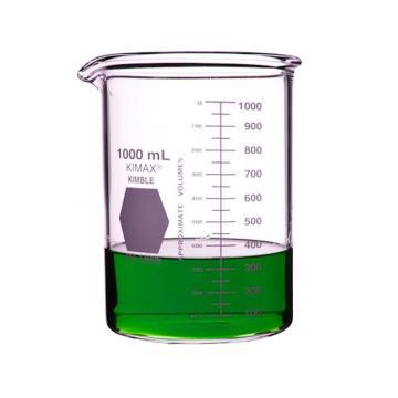 KIMBLE低型烧杯厚壁,1000ml