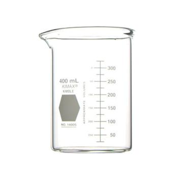 KIMBLE低型烧杯厚壁,400ml