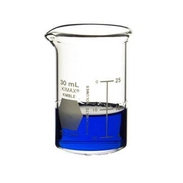 低型烧杯  KIMBIE AK14000-00030  30ml