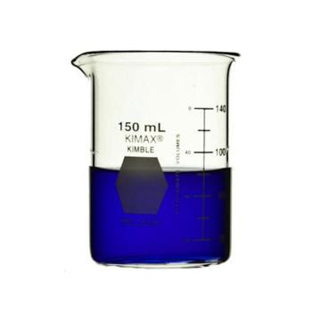 KIMBLE低型烧杯,150ml,玻璃