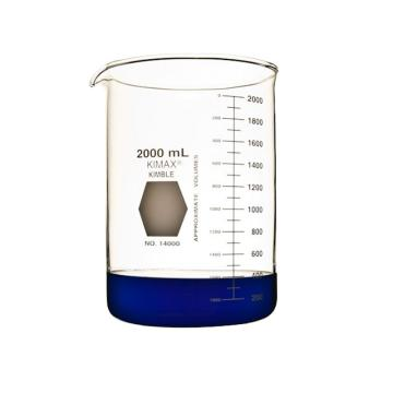 KIMBLE低型烧杯,2000ml,玻璃
