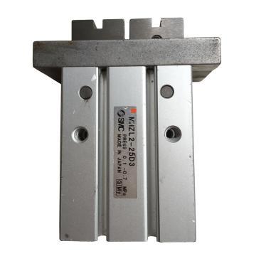 SMC 平行開閉型氣爪,長行程,雙作用,扁平手指型,MHZL2-16D3