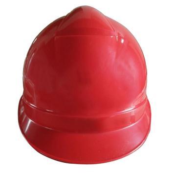 华群ABS安全帽,红色,正面印国电logo(同系列100顶起订)