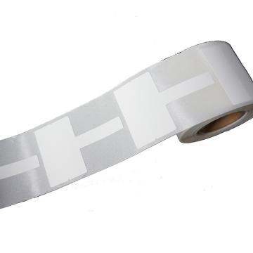 璞趣 T型線纜標簽, 38MM*25MM+30MM尾簽 白色 250張/卷 適配璞趣標簽打印機 單位:卷