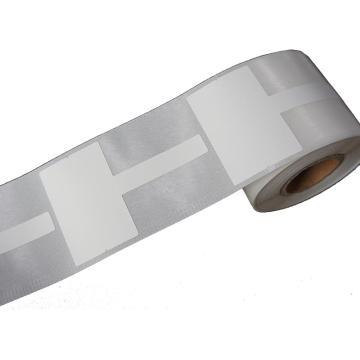 璞趣 T型線纜標簽, 45MM*30MM+40MM尾簽 白色 200張/卷 適配璞趣標簽打印機 單位:卷