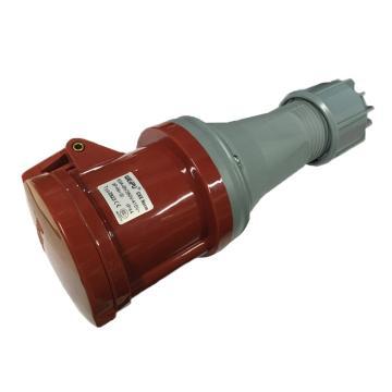 威浦 TYP系列工业连接器,5P 63A 400V IP44 红色,2923,5只/盒