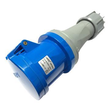 威浦 TYP系列工业连接器,3P 63A 230V IP44 蓝色,2901,5只/盒