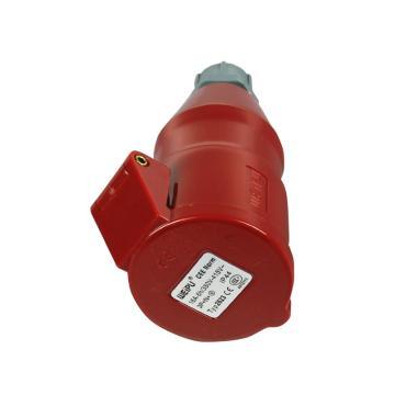 威浦 TYP系列工业连接器,5P 16A 400V IP44 红色,2623,10只/盒