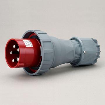 威浦TYP系列工业插头,5P 125A 400V IP67 红色,975