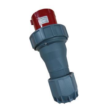 威浦TYP系列工业插头,4P 125A 400V IP67 红色,973