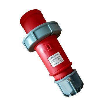 威浦TYP系列工业插头,4P 32A 400V IP67 红色,373