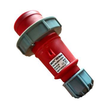 威浦TYP系列工业插头,5P 16A 400V IP67 红色,175