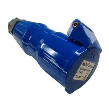 威浦 TYP系列工业连接器,3P 32A 230V IP44 蓝色,2801,10只/盒