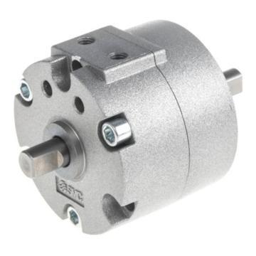 SMC 叶片式摆动气缸,缸径30mm,角度90°,接管M5x0.8,CRB2BW30-90DZ