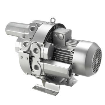 格之凌 双段旋涡气泵 4RB 320系列,4RB 320 H46,三相,1.1KW,排吸气量65m3/h,吸入压力-400mbar,排气压力480mbar