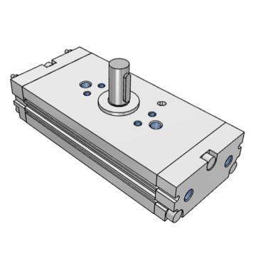 SMC 薄型擺動氣缸,齒輪齒條型,CDRQ2BW10-90