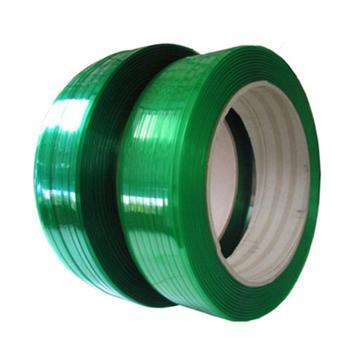 友乐 C级PET塑料打包带,有压花,宽*厚:12mm*0.6mm,每卷长度约:2500m,20KG/卷,12卷/托