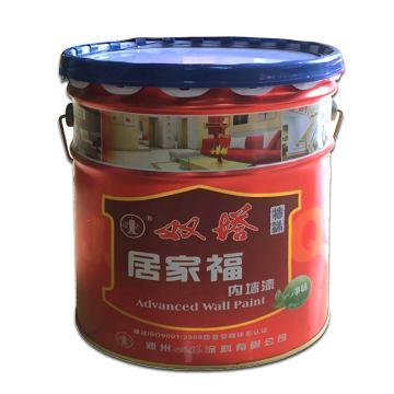 双塔 居家福内墙漆,白,20KG/桶