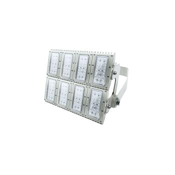 源本技术 LED泛光灯YB5550,300W侧壁式安装,黄光2700-3500K