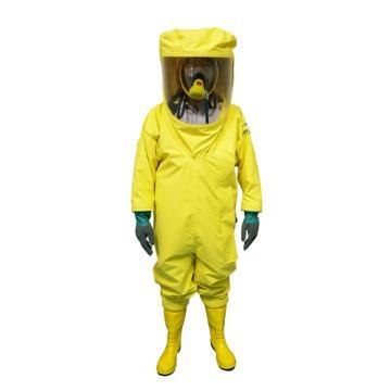 海固2NP二级全封闭轻型防化服,含手套及胶靴,XL