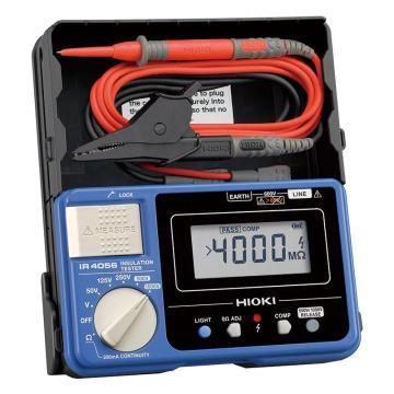 日置/HIOKI 數字式絕緣電阻表,50V/125V/250V/500V/1000V IR4056-20