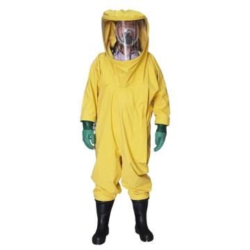 海固3ND三级重型全封闭防化服,含手套及胶靴,M