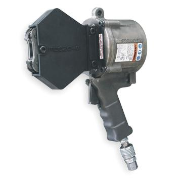 气动钢带咬扣器,适合钢带宽带: 32mm