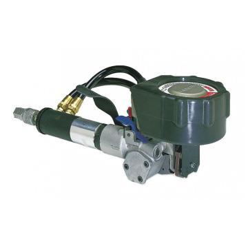 气动钢带打包机,适用打包带宽度:19mm,适合钢带厚度:0.43-0.64mm
