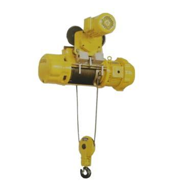 沪工MD1型运行式钢丝绳电动葫芦 5T*6M
