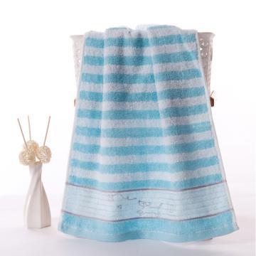 金号面巾,纯棉 柔软吸水大毛巾  90g 68*34cm 颜色随机