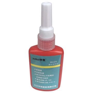 宇凱 螺紋鎖固劑,YK271,50ml/支
