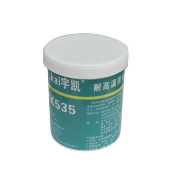 宇凯 耐高温密封胶,YK535,500g/罐