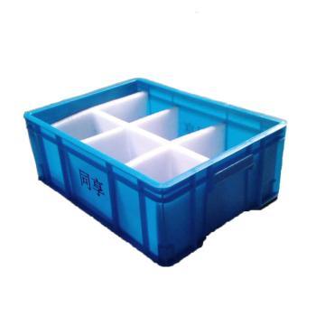 450系列箱,蓝色,内尺寸:450*320*165,外尺寸:480*355*174