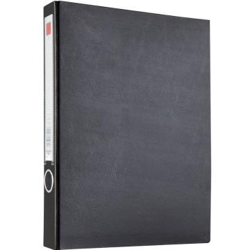 齐心 办公必备纸板夹,NO.334 A4 长押夹 黑 单个